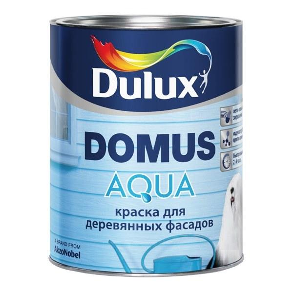 """""""Dulux Domus Aqua"""" краска для деревянных фасадов, в д, п мат - 348"""