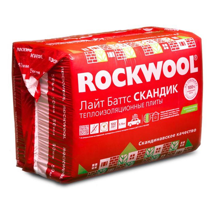 Rockwool Лайт Баттс Скандик - 447