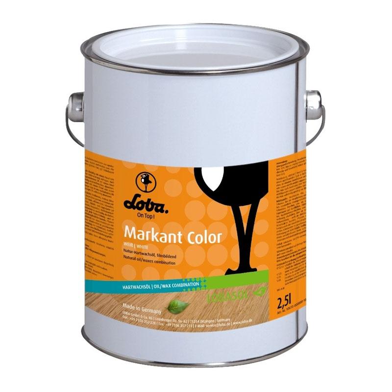 Масло c воском для пола Lobasol Markant - 580
