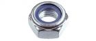 Гайка DIN 985 со стопорным кольцом, цинк - 676