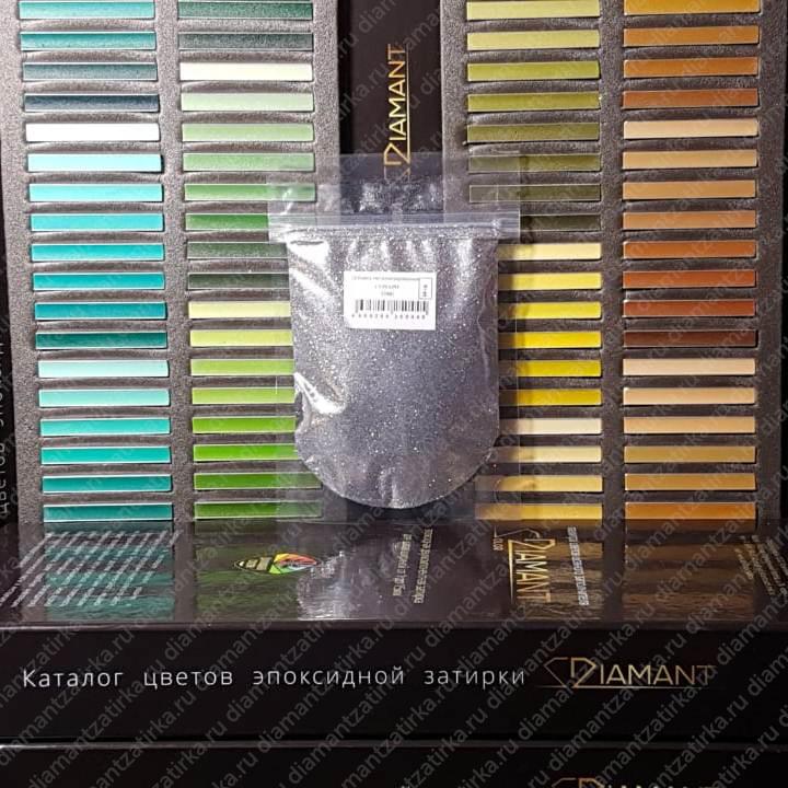 Металлизированная добавка Диамант 104 Серебро, 66 гр. - 998