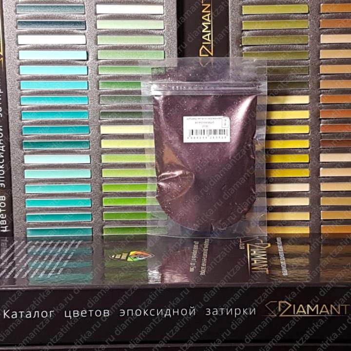 Металлизированная добавка Диамант 112 Коричневый, 66 гр. - 1004