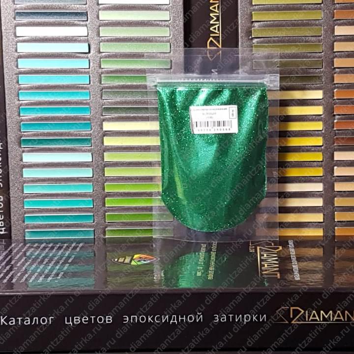 Металлизированная добавка Диамант 116 Зеленый, 66 гр. - 1006