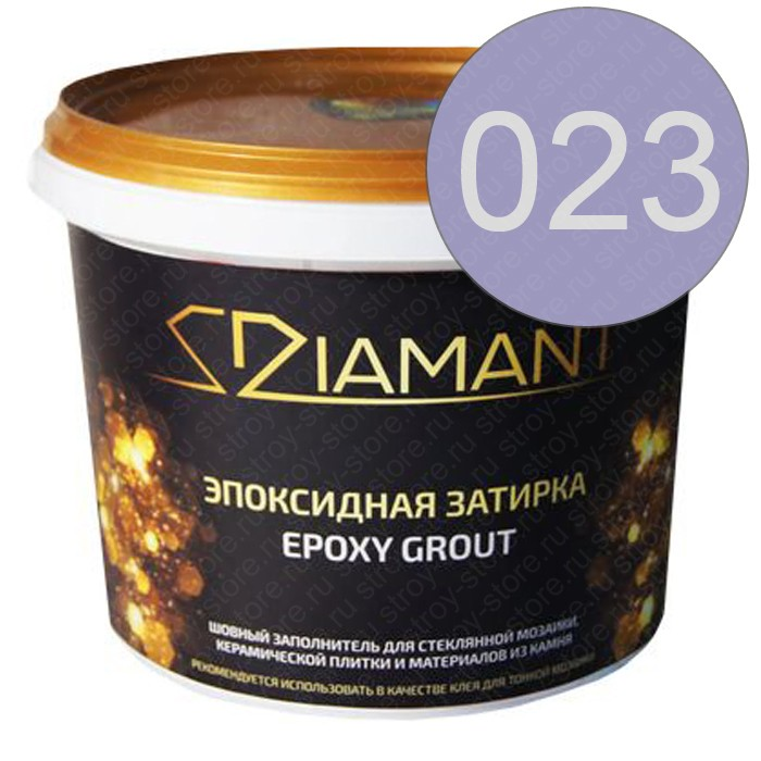 Эпоксидная затирка Диамант 023 Глициния - 1020