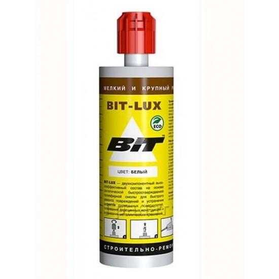 Двухкомпонентный строительно-ремонтный состав BIT-LUX 300 г. белый - 1025