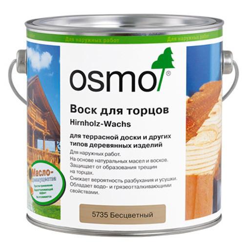 Бесцветный воск для торцов Osmo Hirnholz-Wachs 5735, 2.5 л.