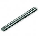 Шпилька резьбовая монтажная по DIN 975 оцинкованная сталь, класс прочности 4.8, M24 x 1000 - 1289