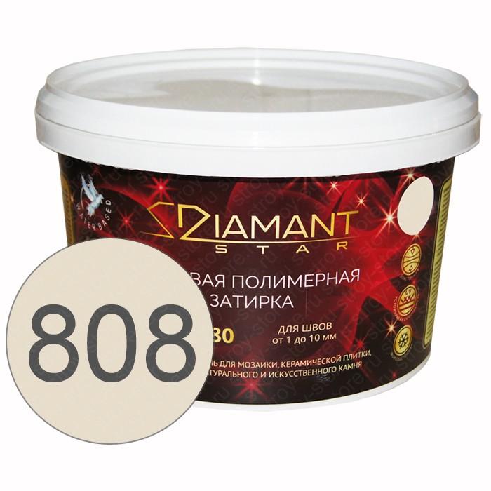 Полимерная затирка Diamant Star lvl.80, 808 мокасиновый - 1422