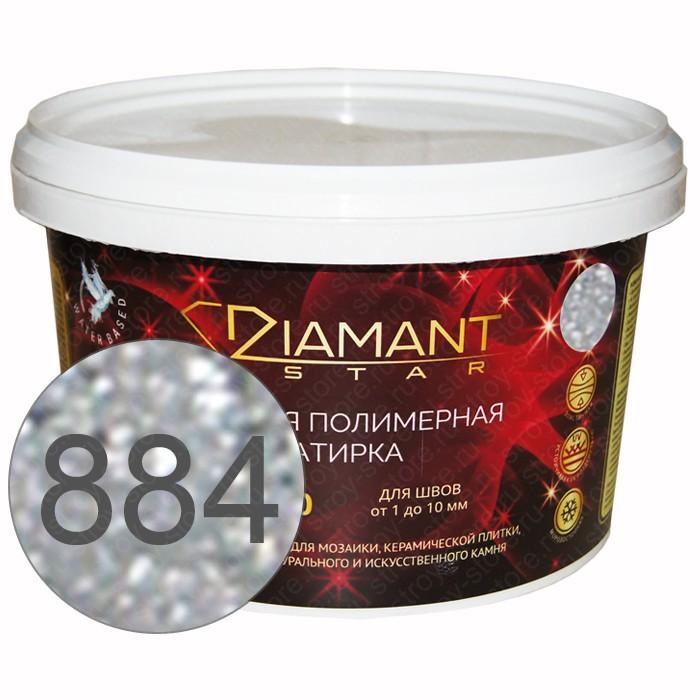 Полимерная затирка Diamant Star lvl.80, 884 лунное свечение - 1433