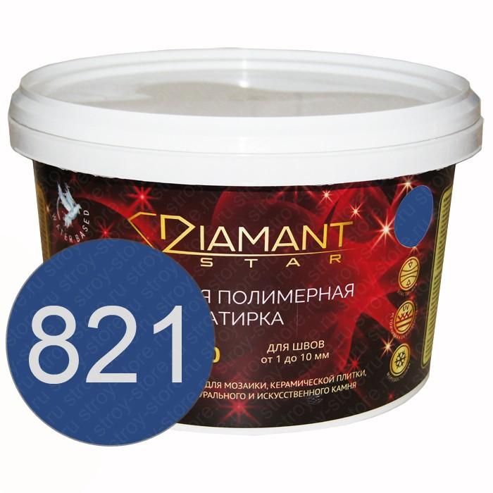 Полимерная затирка Diamant Star lvl.80, 821 сапфир - 1439