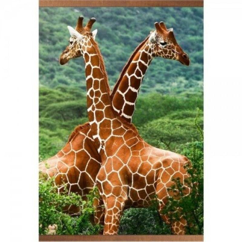 Электрообогреватель настенный «Домашний очаг» Жирафы - 1450