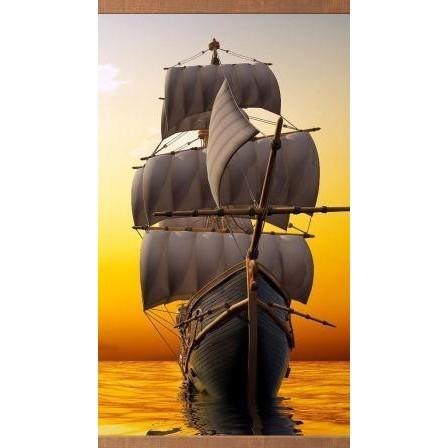 Электрообогреватель настенный «Домашний очаг» Корабль - 1459