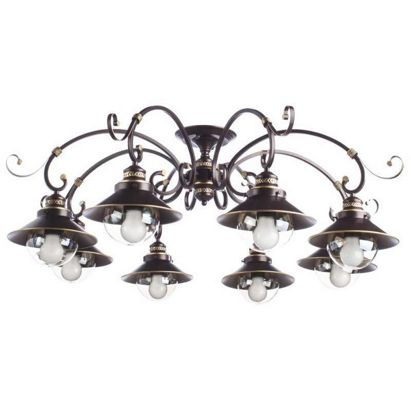 Люстра Arte Lamp GRAZIOSO A4577PL-8CK - 1701