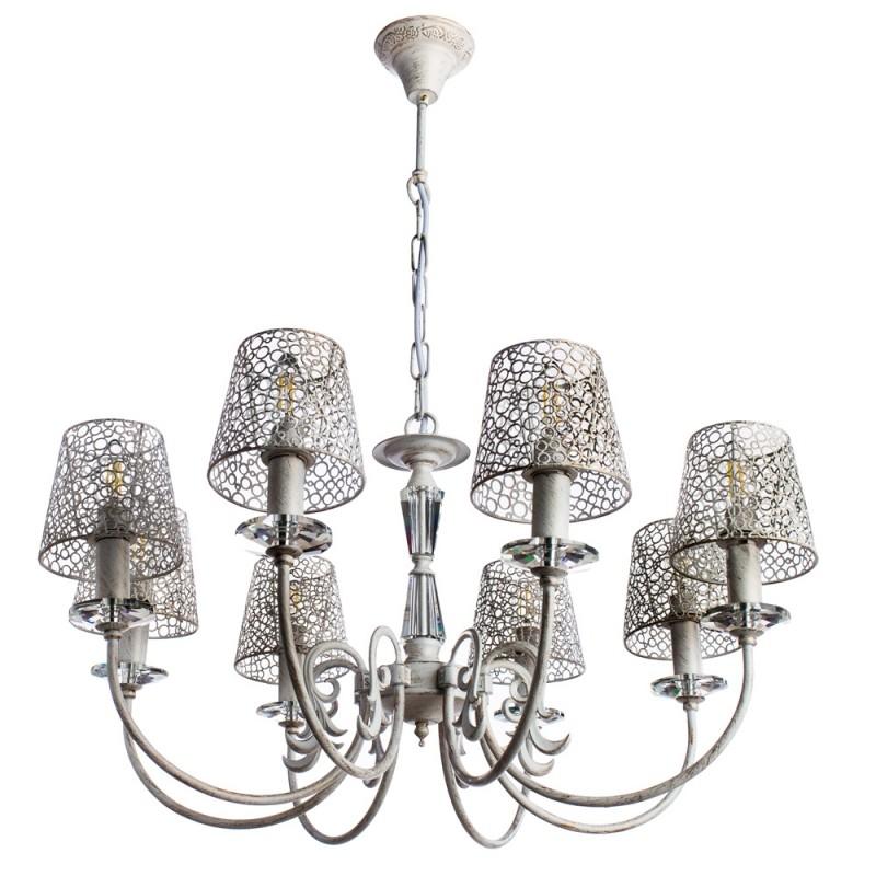 Люстра Arte Lamp RAGNATELA A5468LM-8WG - 1704
