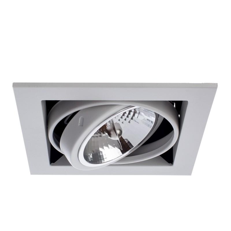 Встраиваемый светильник Arte Lamp CARDANI GRANDE A5935PL-1WH - 2068