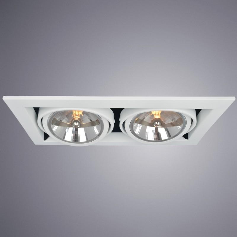 Встраиваемый светильник Arte Lamp CARDANI GRANDE A5935PL-2WH - 2070