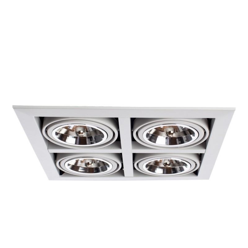 Встраиваемый светильник Arte Lamp CARDANI GRANDE A5935PL-4WH