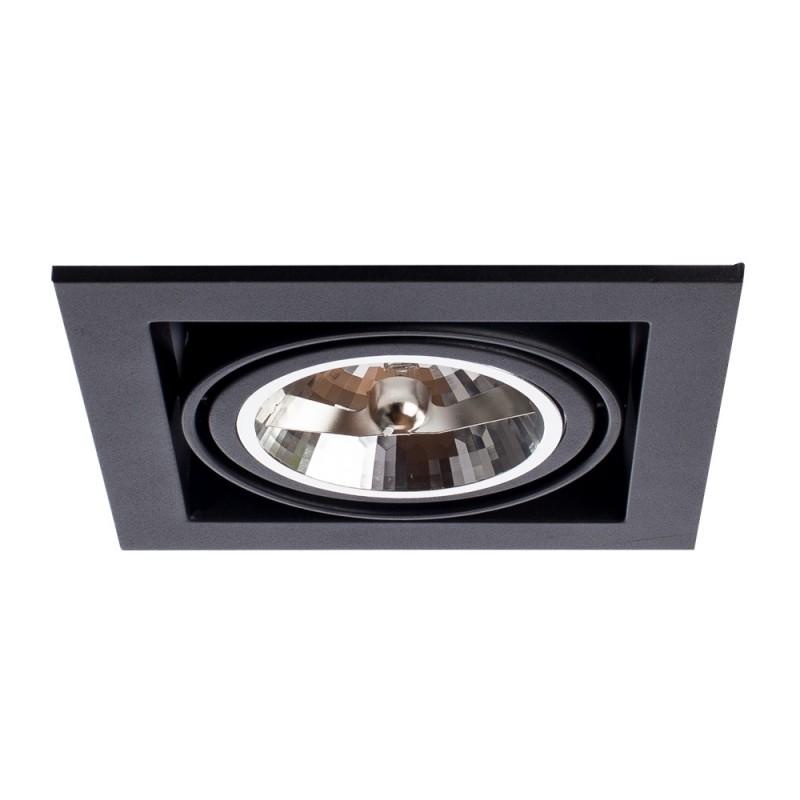 Встраиваемый светильник Arte Lamp CARDANI GRANDE A5935PL-1BK - 2076
