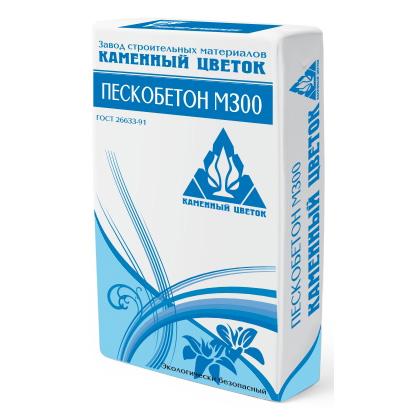 "Пескобетон ""Каменный цветок"" М300 - 247"
