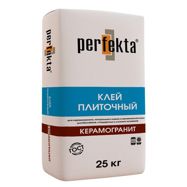Плиточный клей Perfekta Керамогранит
