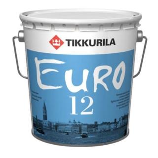 Tikkurila Euro 12 / Евро 12 краска латексная на основе акрилового сополимера