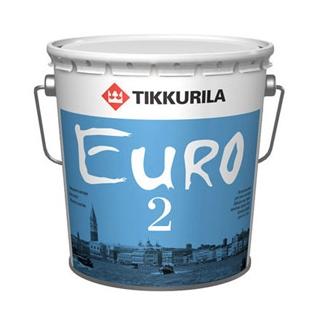 """""""Тиккурила Евро 2 / Tikkurila Euro 2"""" краска латексная на основе акрилового сополимера"""