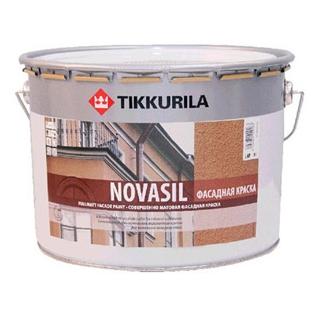 """""""Tikkurila Новасил / Novasil"""" краска силик фасадная"""