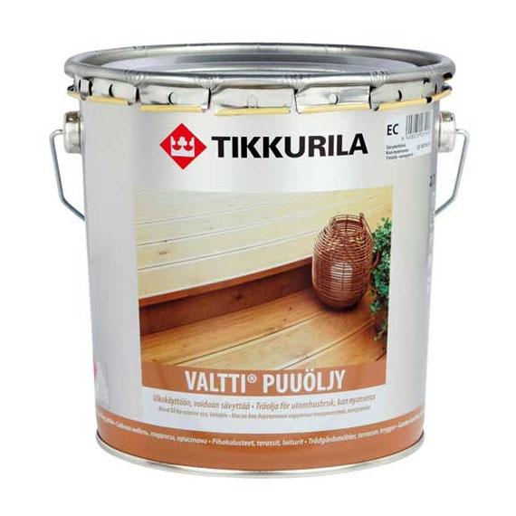 Масло для дерева Tikkurila Valtti (Валтти) 9 л - 588