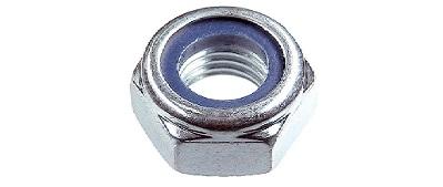 Гайка DIN 985 со стопорным кольцом, цинк