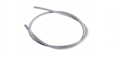 Трос  в оплетке ПВХ - DIN 3055 PVC
