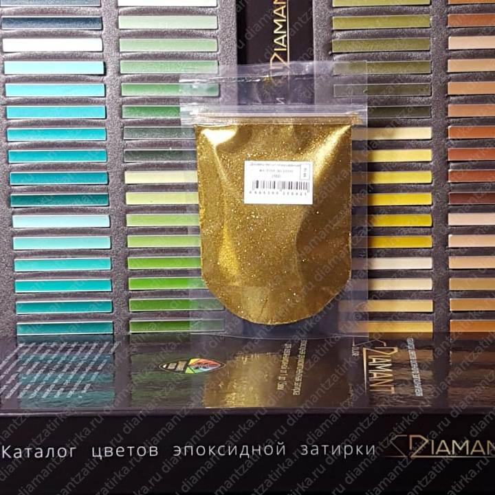 Металлизированная добавка Диамант 102 Желтое золото, 66 гр.