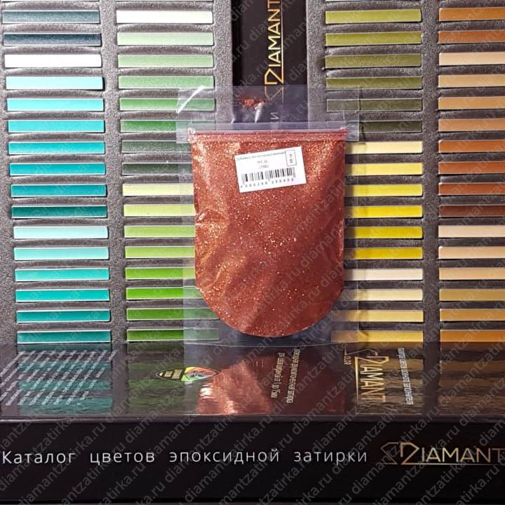 Металлизированная добавка Диамант 105 Медь, 66 гр.